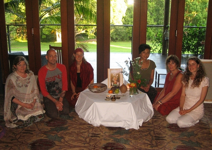 Meditation Group at Paradise One