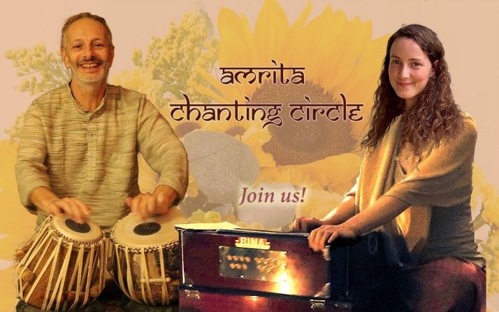Amrita Chanting Flyer 7.9.VAVA join us